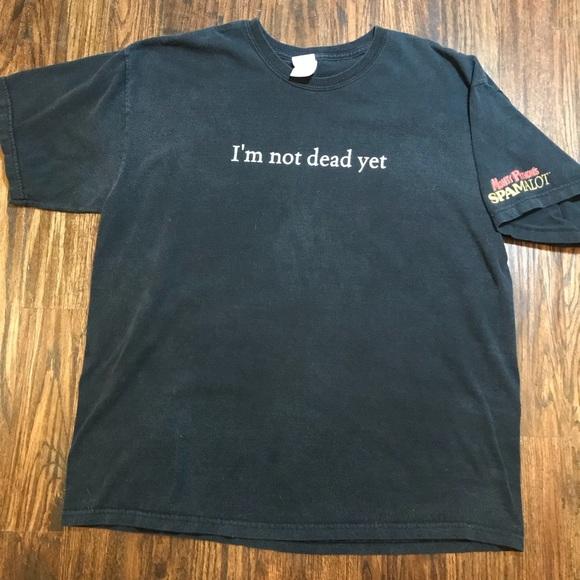 Shirts Mens Monty Python Spamalot Im Not Dead Yet Poshmark